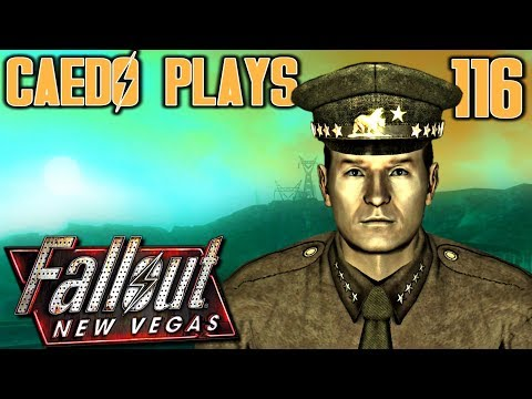 Lost in Hoover Dam - Caedo Plays Fallout: New Vegas #116 - Lonesome Road (Buckaroo Build) thumbnail