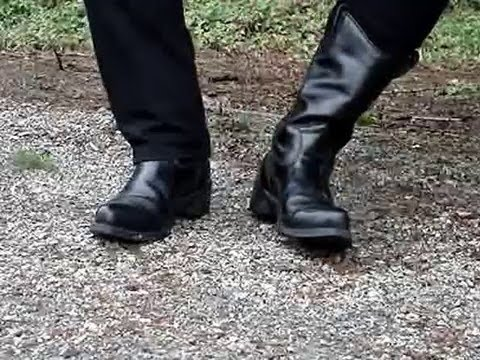 Do You Wear Your Jeans Over Or Inside Your Boots? - YouTube