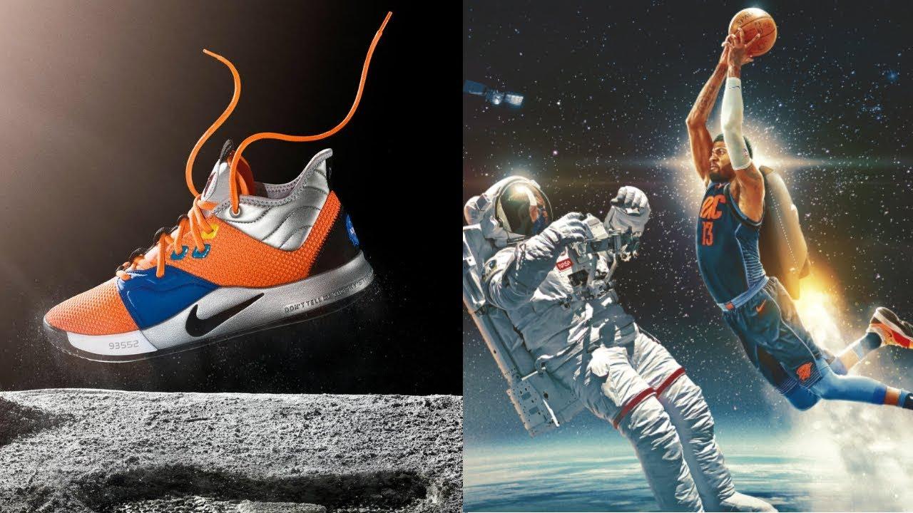 8d4eb9bea7da Paul George Debuts His PG x 3 NASA Edition Releasing January 26th ...