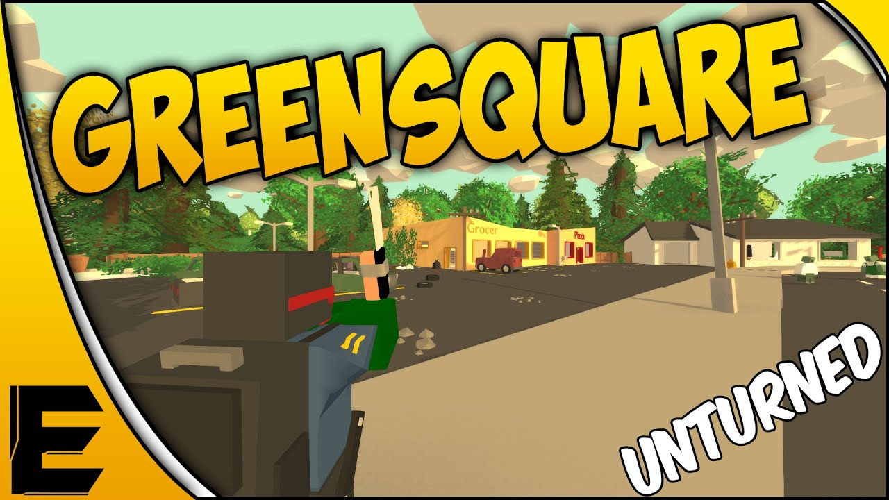 Unturned Green Square Island Download
