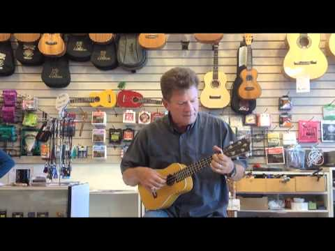 Stan Houston plays Ukulele.dv