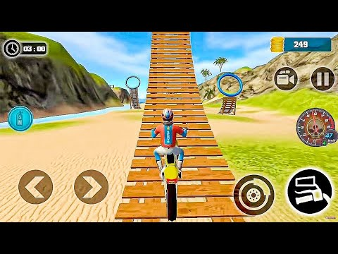 Motocross Beach Bike Stunt Racing - Motor Racer Game Android Gameplay