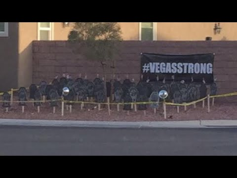 Man Gets Death Threats Over Tombstone Tribute to Las Vegas Shooting Victims