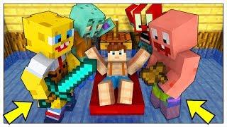LUCA È STATO RAPITO DA SPONGEBOB! - Minecraft ITA