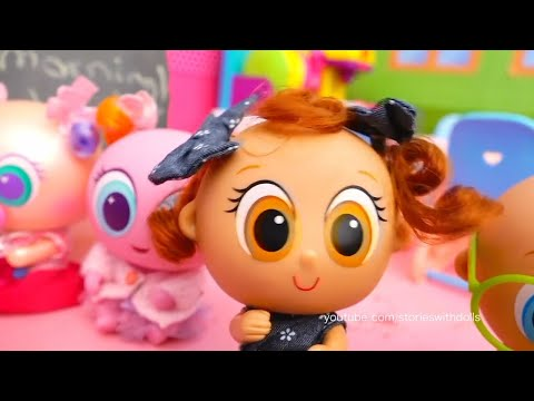 Thumbnail: Distroller Toy Babies School - Toddlers Learn Nursery Rhymes and Kids Find Surprise Toys in Slime