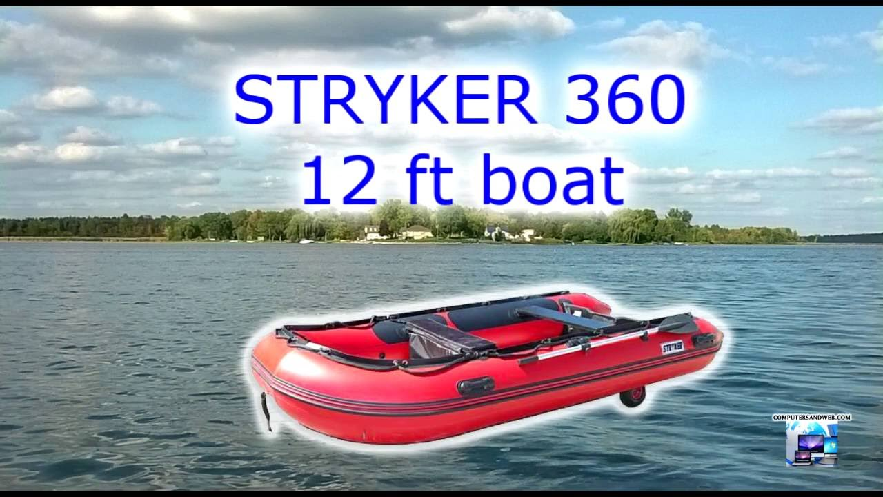 Lake Scugog, Testing Top Speed with a Yamaha 9.9 hp , Stryker Boat ...