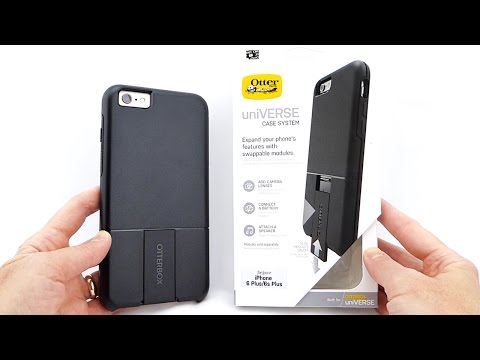 Swap out your Accessories with the OtterBox UniVERSE: A Modular Case System for iPhone 6s+!