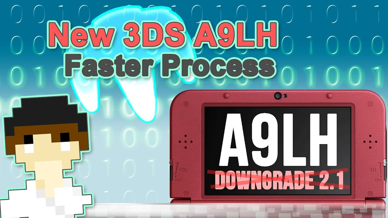 New 3DS A9LH Install Process Much Easier to Perform   #Pixelnews