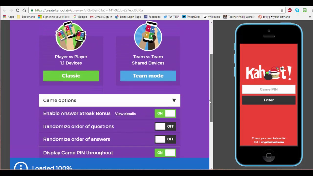 Creating A Quiz In Kahoot