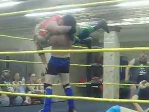 Fire Pro Wrestling 6 Man Scramble Match