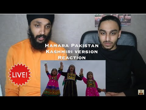 HAMARA PAKISTAN | Kashmiri | ISPR | Pakistani Army Song | Indian Reaction