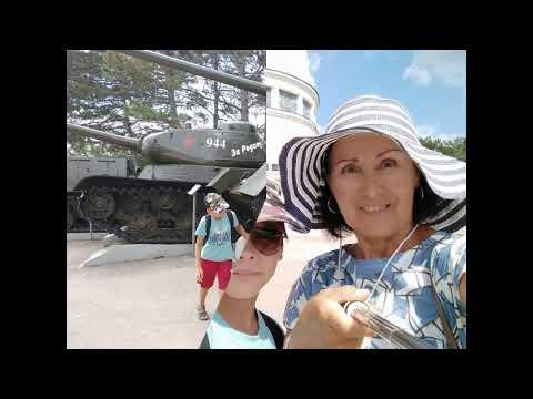 43 дня в Крыму 2019... Севастополь - Сапун- гора 3 августа