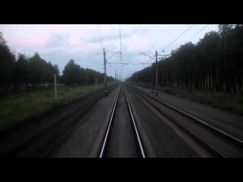 Train ride between Novosibirsk and Barabinsk