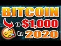 This person thinks Bitcoin (BTC) will hit $1,000