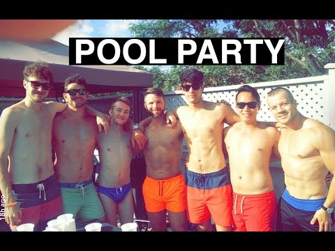 Pool Party w the Fellas