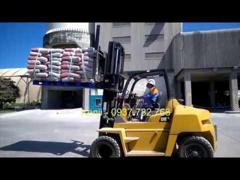 Xe nâng CAT 7 tấn Nhật Bản