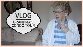 Vlog | Grandma's Condo Tour | March 26, 2015