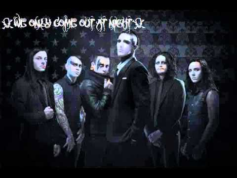 Motionless In White-We Only Come Out At Night(Lyrics In Description)