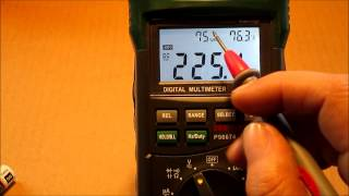 New Multimeter ( Cen- Tech P98674 )