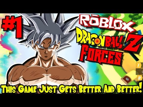 THIS GAME KEEPS GETTING BETTER AND BETTER! | Roblox: Dragon Ball Forces (April/May Test) - Episode 1