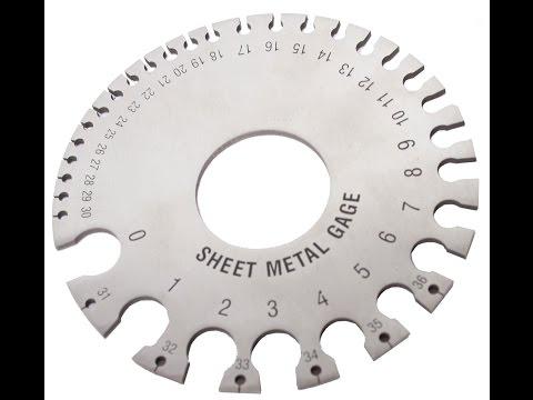 WFSG Woodward Fab Sheet Metal Gauge