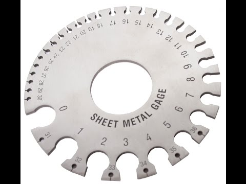 WFSG Woodward Fab Sheet Metal Gauge