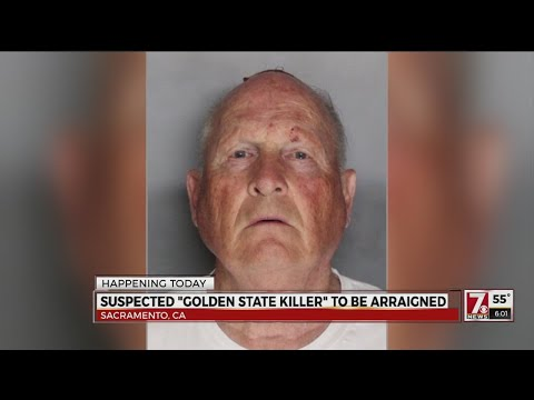 'Golden State Killer' suspect to be arraigned