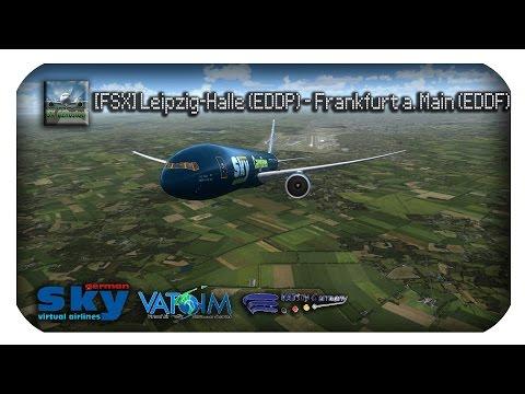 [FSX] #002 - LEIPZIG-HALLE (EDDP) - FRANKFURT A. M.(EDDF) | HD | GERMAN