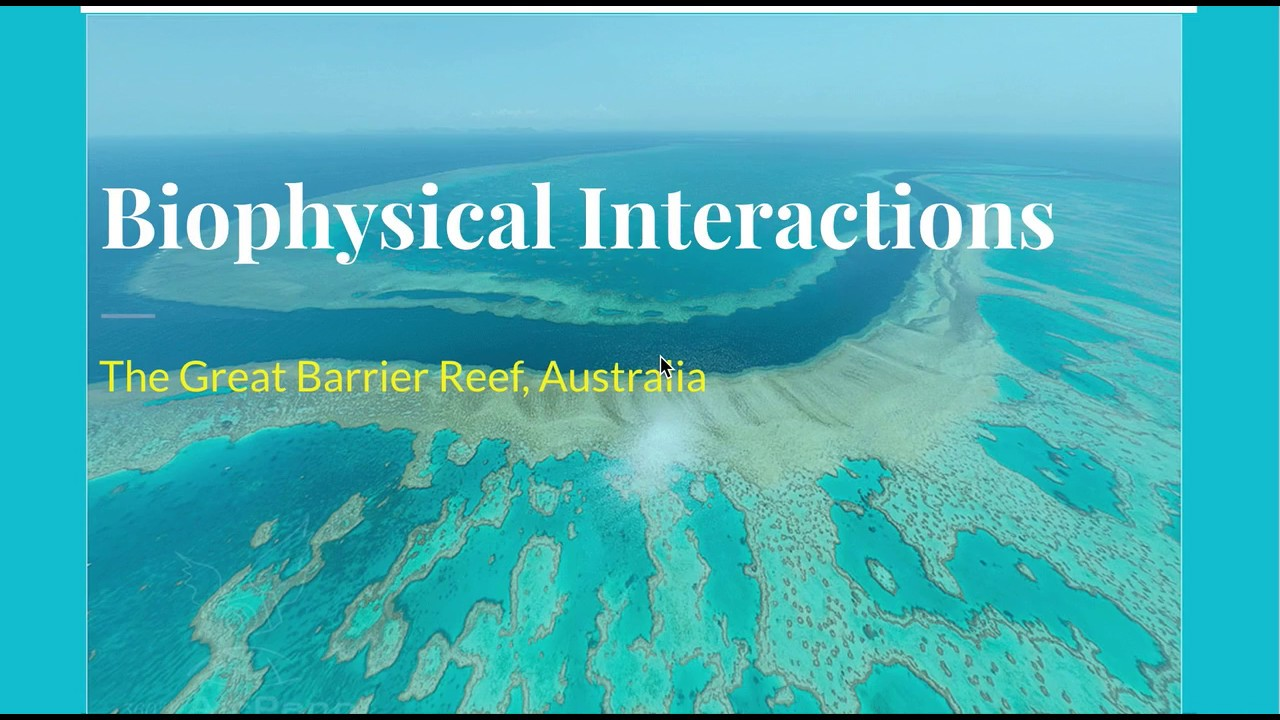 Great Barrier Reef- Biophysical Interactions