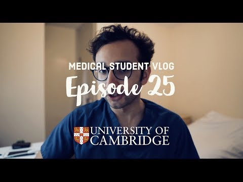 Breaking Bad News / Death & Dying - Cambridge medical student VLOG #25