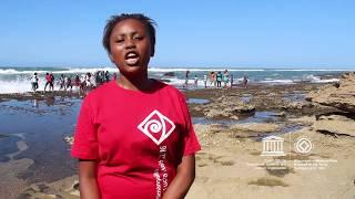 Buntu #MyOceanPledge Isimangaliso Wetland Park World Heritage marine site