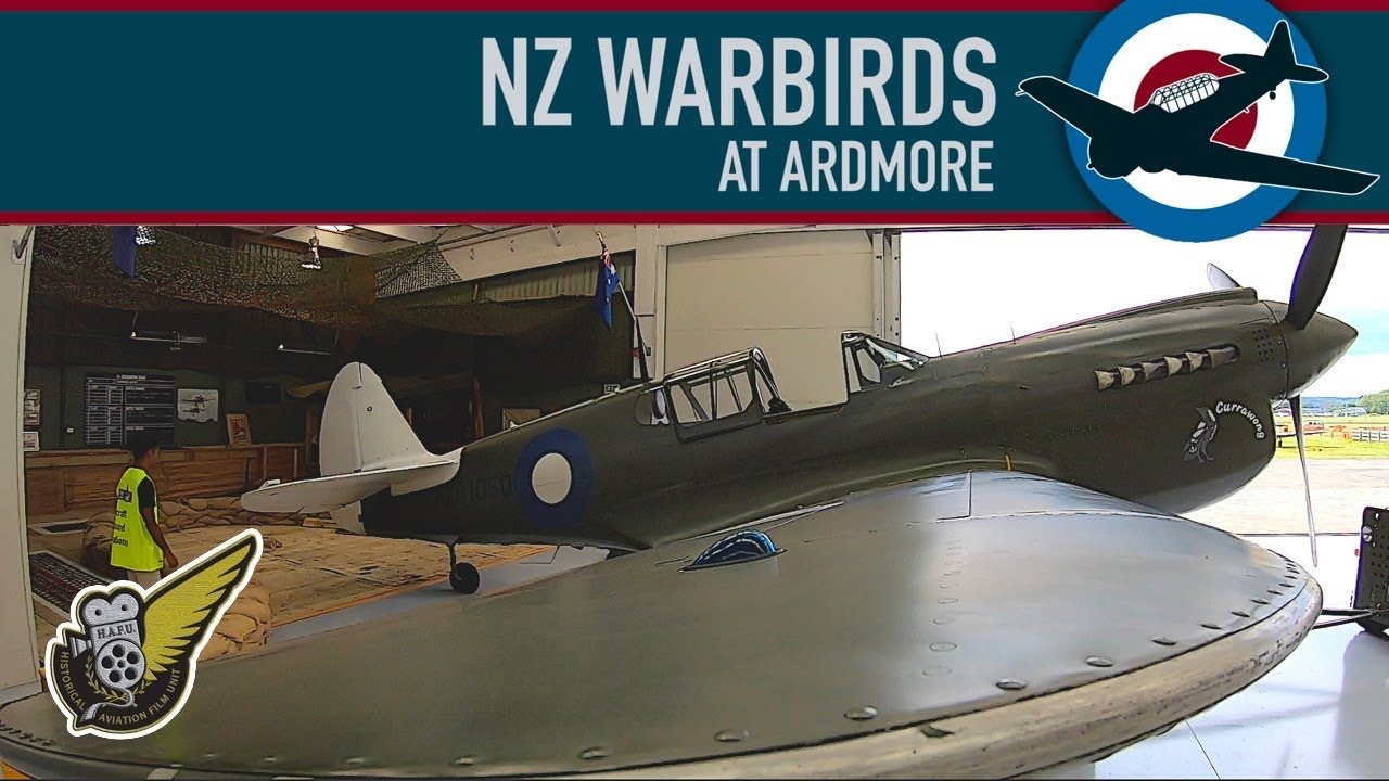 New Zealand Warbirds, and now NZ Warbirds At Ardmore