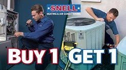 FREE A/C Tune-Up   SNELL Heating and Air Conditioning