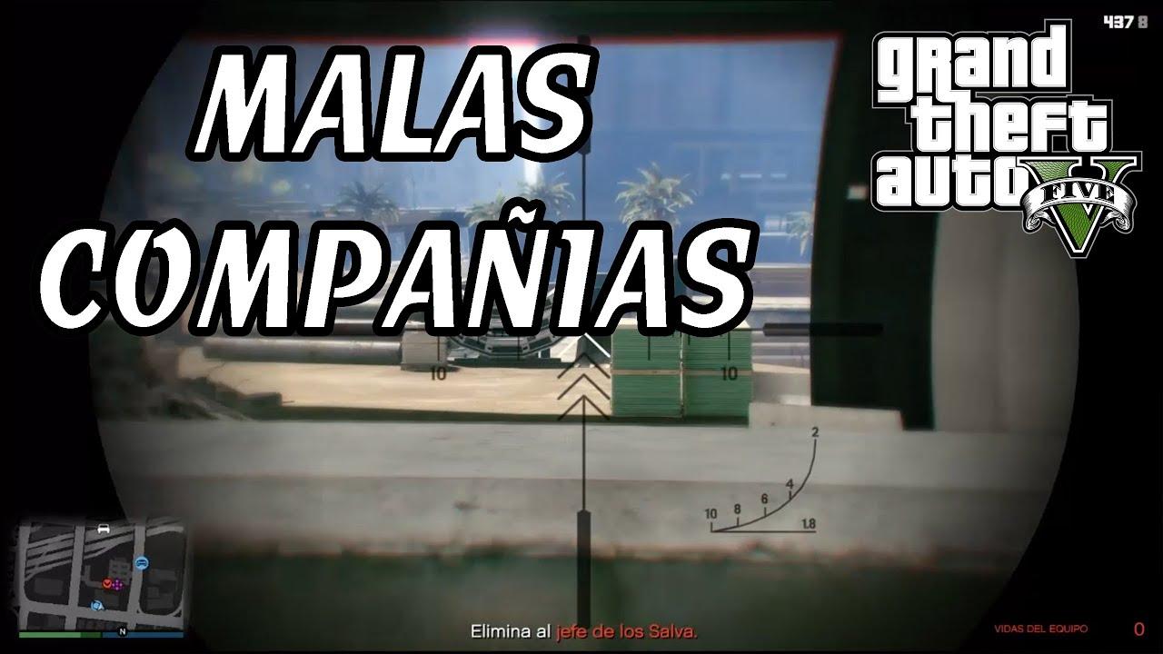 MALAS COMPAÑIAS MISION GERALD GTA V ONLINE