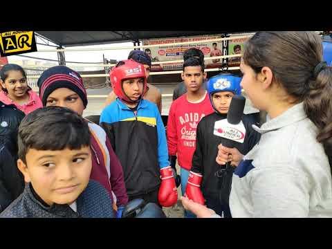 जब Dronacharya boxing academy ki student बनी Reporter.