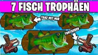 Fortnite dance 7 fish trophy 🐟 Clay Pigeon | Woche 8 Battlepass Herausforderungen