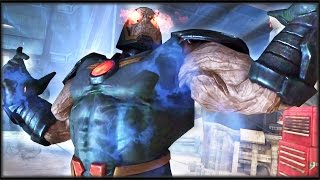 "Injustice: Gods Among Us - ""Apokolips"" Darkseid! Attacks!"