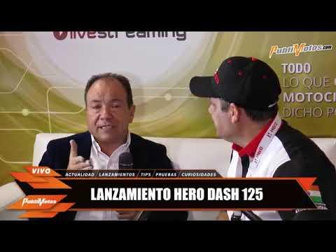 LANZAMIENTO HERO DASH 125-16° SALÓN INTERNACIONAL DEL AUTOMÓVIL 2018 //PUBLIMOTOS.COM
