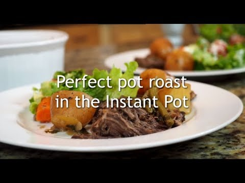 How to make pot roast in instant