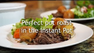 Perfect Instant Pot Pot Roast