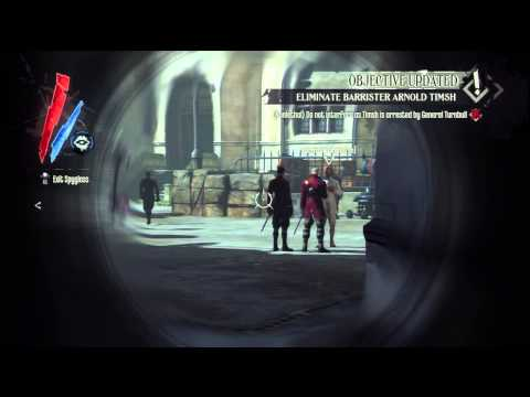 Dishonored: The Knife of Dunwall - Eminent Domain: General Turnbull & Barrister Timsh Meeting PS3