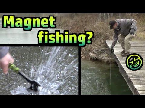 magnet fishing oder doch eher eisfischen 203 youtube
