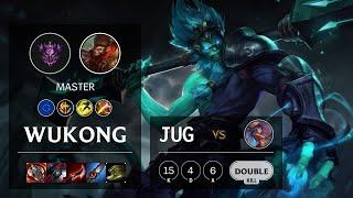 Wukong Jungle vs Lillia - EUW Master Patch 10.21