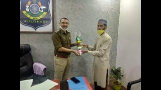 Munaf patel indin cricketer visit Kgn medical st
