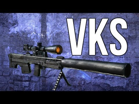 Ghosts In Depth - VKS Sniper Rifle Review