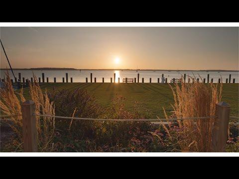 St. Michaels Maryland - Chesapeake Bay in 4k