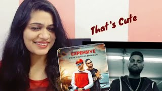 Expensive Song Reaction (Requested) | Karan Aujla | Binni Ranu | Smile  With Garima