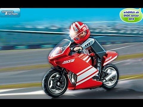 playmobil motos motocicleta motorr dern youtube. Black Bedroom Furniture Sets. Home Design Ideas