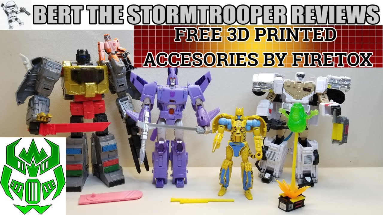 Bert the Stormtrooper Reviews Kingdom & Studio Series FREE Upgrades from Firetox Designs!