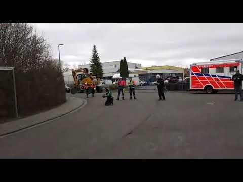 Feuerwehr Live Übung In Nieder-Olm